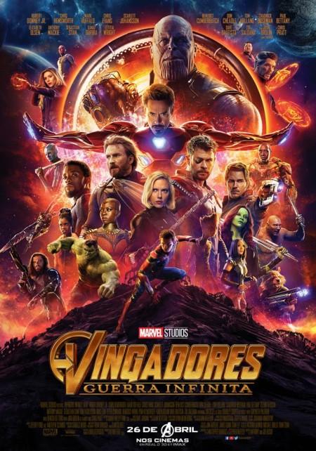 Vingadores - Guerra Infinita (filme longo)